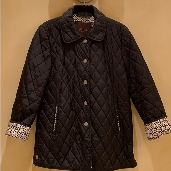 Coach Jackets & Blazers - Coach quilted jacket